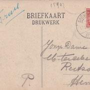 Ansichtkaart Gevangenis Leeuwarden A0110-b