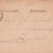Ansichtkaart Gevangenis Leeuwarden A0087-b