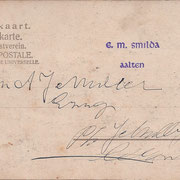 Ansichtkaart Gevangenis Leeuwarden A0083-b