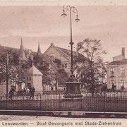 Ansichtkaart Gevangenis Leeuwarden A0091-a