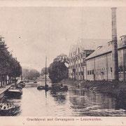 Ansichtkaart Gevangenis Leeuwarden A0098-a