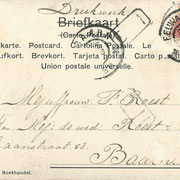 Ansichtkaart Gevangenis Leeuwarden A0148-b