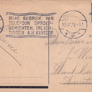 Ansichtkaart Gevangenis Leeuwarden A0041-b