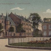 Ansichtkaart Gevangenis Leeuwarden A0130-a