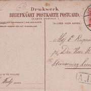 Ansichtkaart Gevangenis Leeuwarden A0112-b