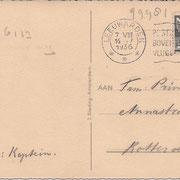 Ansichtkaart Gevangenis Leeuwarden A0019-b
