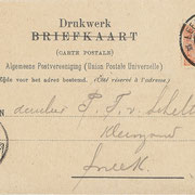Ansichtkaart Gevangenis Leeuwarden A0129-b