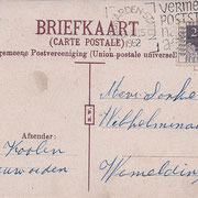 Ansichtkaart Gevangenis Leeuwarden A0020-b