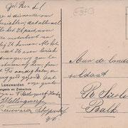 Ansichtkaart Gevangenis Leeuwarden A0115-b