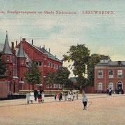 Ansichtkaart Gevangenis Leeuwarden A0007-a