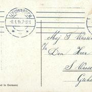 Ansichtkaart Gevangenis Leeuwarden A0138-b