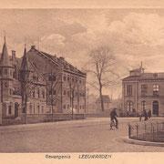 Ansichtkaart Gevangenis Leeuwarden A0004-a