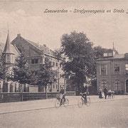 Ansichtkaart Gevangenis Leeuwarden A0063-a