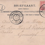 Ansichtkaart Gevangenis Leeuwarden A0093-b