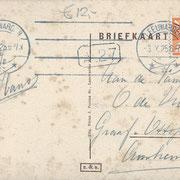 Ansichtkaart Gevangenis Leeuwarden A0130-b