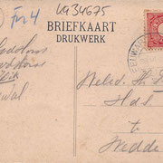 Ansichtkaart Gevangenis Leeuwarden A0103-b