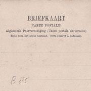 Ansichtkaart Gevangenis Leeuwarden A0097-b
