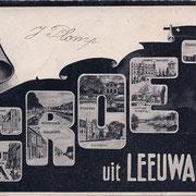 Ansichtkaart Gevangenis Leeuwarden A0073-a