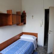 Camera singola bagno in condivisione