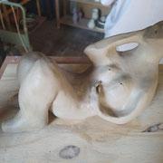 Sculpture femme