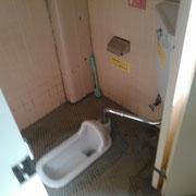 和式トイレ① ここを洋式に