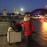 LVR-Weihnachtbasar_11_2015. Aufbau, Unikatmanufaktur aus Köln · Doris Königstedt