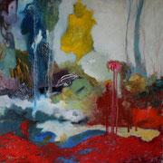 // Inspire // huile sur toile - 60 x 60 cm