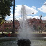 Casa rosada (palais du gouvernement Buenos Aires