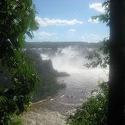 Chutes d'Iguazu côté Brésil