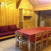 Gîte la Grange - canapé convertible couchage d'appoint
