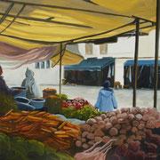 L'étalage de fruits et de légumes, Essaouira