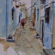 La vieille femme, Tunisie