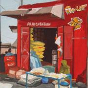 La boutique rouge, Sénégal