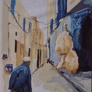 Homme de dos, Tunisie