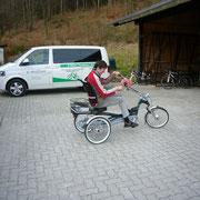 Easy Rider 2 Sesseldreirad für Erwachsene