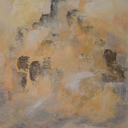 Machu Picchu      Acryl auf Leinwand  50 x 60  CHF 450