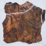 Natur IV  Acryl mit Papier-Reisstechnik  40 x 40 CHF 180