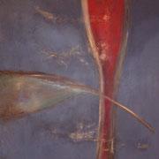 Ohne Titel      Acryl auf Leinwand  100 x 100  mit Rahmen  CHF 850