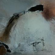 Ohne Titel  Acryl auf Leinwand 40 x 100 CHF 350