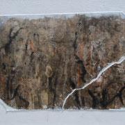 Natur II  Acryl mit Papier-Reisstechnik  30 x 40 CHF 180