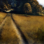 Berceau de lumière - acrylique sur bois - 45x61 cm - 2004 - M.Pavlïn