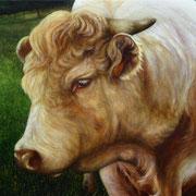 Pré-sentiment - acrylique sur bois - 53,5x68,7 cm - 2005 - M.Pavlïn