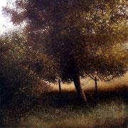 que ma joie ne meurt - acrylique sur bois - 45x45 cm - 2004 - M.Pavlïn