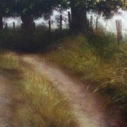 vicinal - acrylique sur bois - 54x97 cm - 2008 - M.Pavlïn