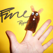 Fingerpuppe Hase