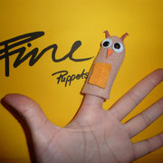 Fingerpuppe Eule