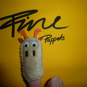 Fingerpuppe Hirsch