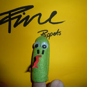 Fingerpuppe Schlange