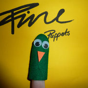 Fingerpuppe Vogel