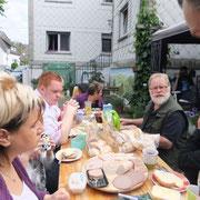 Frühstück vor der Feier